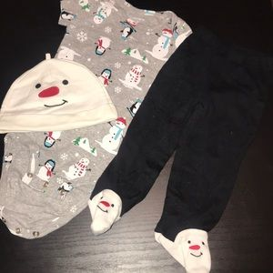 Carters 9 months Christmas outfit